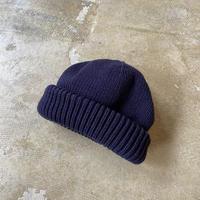"crepuscule ""knit cap"" / クレプスキュール ""ニットキャップ"" (ネイビー)"