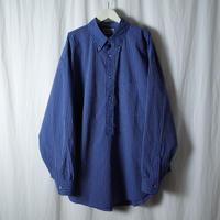 """■お問い合わせ商品■ Marvine Pontiak Shirt Makers """"B.D. P/O SH"""" (ネイビーストライプ)"""