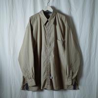 """■お問い合わせ商品■ Marvine Pontiak Shirt Makers """"Two Tone SH"""" (ベージュ×ブルーグレー)"""