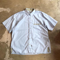 "■お問い合わせ商品■ Marvine Pontiak Shirt Makers ""Two Tone S/S Shrts"" (サックス)"