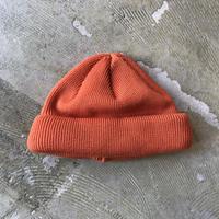 """RACAL """"Roll Knit Cap"""" / ラカル""""ロールニットキャップ"""" (オレンジ)"""