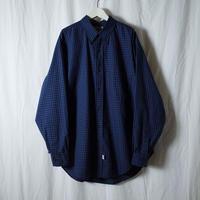 """■お問い合わせ商品■ Marvine Pontiak Shirt Makers """"B.D. SH"""" (ブルーギンガムチェック)"""