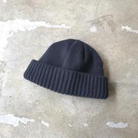 "crepuscule ""knit cap"" / クレプスキュール ""ニットキャップ"" (チャコールグレー)"