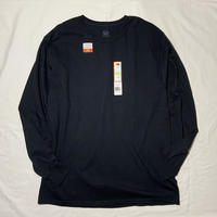 "used&vintage ""FRUITS OF THE LOOM L/S Tee"" (ブラック)"