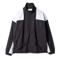 "SANDINISTA ""Retro Sports Jacket"" / サンディニスタ ""レトロスポーツジャケット"" (ブラック×ホワイト)"