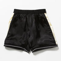 "VOTE MAKE NEW CLOTHES ""SATIN SOUVENIR SHORTS 7"" (ブラック)"
