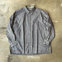 "■お問い合わせ商品■ Marvine Pontiak Shirt Makers ""Two Tone L/S Shirts"" (グリーンチェック)"