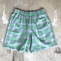 "VOTE MAKE NEW CLOTHES ""SKATE NEL SHORTS""(グリーン)"