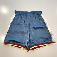 "VOTE MAKE NEW CLOTHES ""SATIN SOUVENIR SHORTS 7"" (ブルー)"