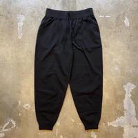 """crepuscule """"wholegarment pants"""" / クレプスキュール """"ホールガーメントパンツ"""" (ブラック)"""
