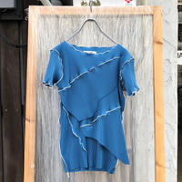 kotohayokozawa  / pleats top short sleeve  / TDKT-P03