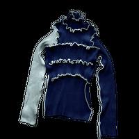kotohayokozawa Rib knit high neck | TD20A-KN03