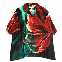 taakk  GOLDFISH OPEN COLLAR SILK SHIRTS TA20SS-SH011