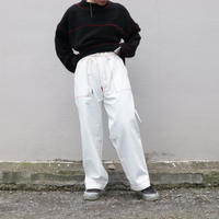 osakentaro  zigzag stitch denim pants  no.2004348