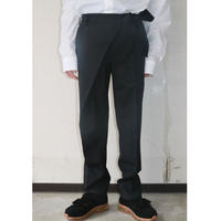 SOSHIOTSUKI  WRAP KNOT WIDE TROUSERS SAW20PT02F