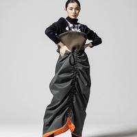 ANREALAGE MA-1 SLEEVE DRESS&SKIRT