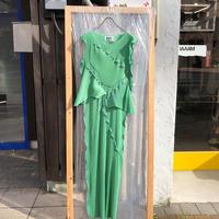 kotohayokozawa  /  pleats dress no-sleeve  /  TDKT-PD01