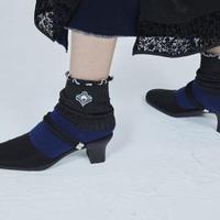 BANSAN  Lucky Charm Socks NAVY AS500
