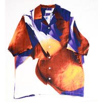 taakk  FLOWER OPEN COLLAR SILK SHIRTS TA20SS-SH011