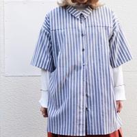 NATSUMI ZAMA Big Tuck Shirt | 20SS_S001_[1]
