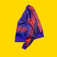 elephant TRIBAL fabrics./eS-CHK1913  Check cardigan