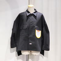 SHINYA KOZUKA WORK SHIRT-ISH JACKET WITH DICKIES | 2001SK60