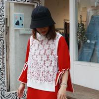 osakentaro lace pullover vest  2003052