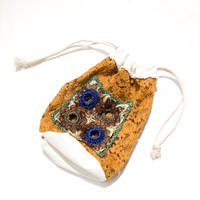 osakentaro×an/eddy         beads  and lace with hole bag