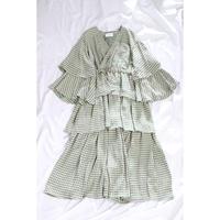 BELPER  GINGHAM DRESS 1411-0321