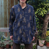 Sasquatchfabrix  MAYOKE WA-NECK SHIRT 21SS-SY9-001
