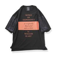 Leh  Big Size Slit T-SH(SONGS OF EXPERIENCE) LEH-763 (black)