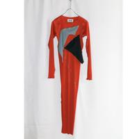 【アム3周年別注】kotohayokozawa Pleats dress long-sleeve / TDKT-PD05