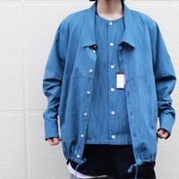 SYU.HOMME/FEMM Henry-neck overneck shirts