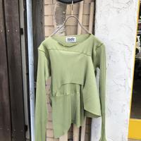 kotohayokozawa  Pleats top long-sleeve  | TDKT-P05