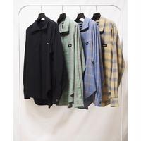 SYU.HOMME/FEMM / Hi-neck Zip Shirts