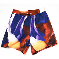 taakk  FLOWER SILK SHORTS TA20SS-PT034