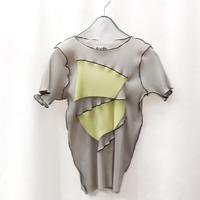 【アム3周年別注】kotohayokozawa  / pleats top short sleeve  / TDKT-P03