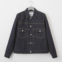 FUMITO GANRYU  Back tucked denim jaket Fu5-BI-02