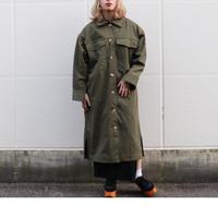 NATSUMI ZAMA  Pocket Long Coat   C002