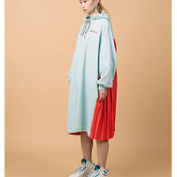 NONTOKYO / 2021S/S /BACK PLEATS SWEAT ONE-PIECE