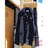 kotohayokozawa Pleats coat /TD19A-CT