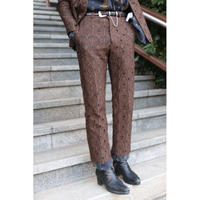 Sasquatchfabrix  MAYOKE LACE STRAIGHT PANTS 21SS-PA9-001