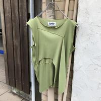 kotohayokozawa Pleats top no sleeve | TDKT-P01