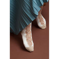 BANSAN Special knit socks - WHITE