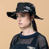 NONTOKYO / 2021S/S /SAFARI HAT(BLACK)