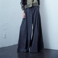 SHIROMA  20-21A/W tuck wide slacks
