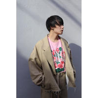 doublet  SILK CHINO CUT-OFF JACKET 21SS10JK39
