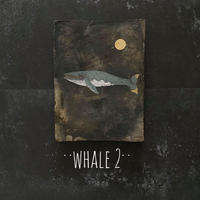 2020Xmas 田中健太郎 vintage¨KAWARA¨ ART「WHALE 2」