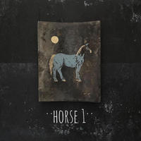 2020Xmas 田中健太郎 vintage¨KAWARA¨ ART「HORSE 1」