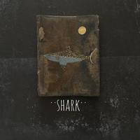 2020Xmas 田中健太郎 vintage¨KAWARA¨ ART「SHARK」